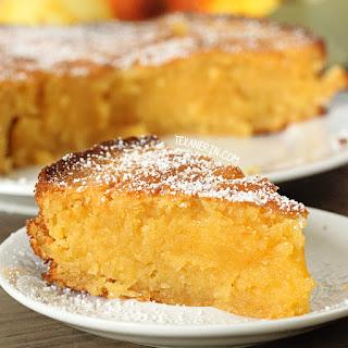 Italian Lemon Almond Cake (Torta Caprese Bianca - grain-free, gluten-free)