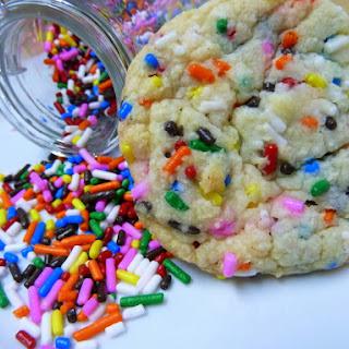Funfetti Cake Batter Cookies Recipe