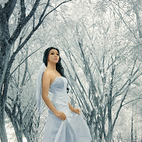 Lovely Fairy in My Dream by Adiie Winata - People Portraits of Women