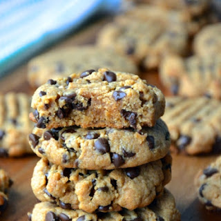 Best Ever Peanut Butter Chocolate Chip Cookies.