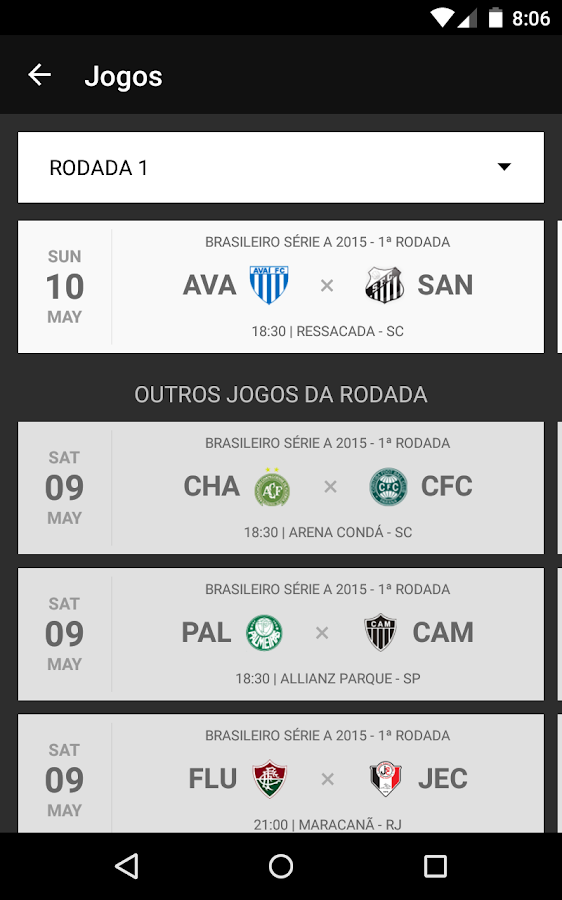 Santos SporTV- screenshot