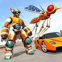 Mosquito Robot Car Game - Transforming Robot Games icon