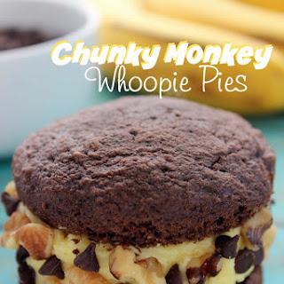 Chunky Monkey Whoopie Pies