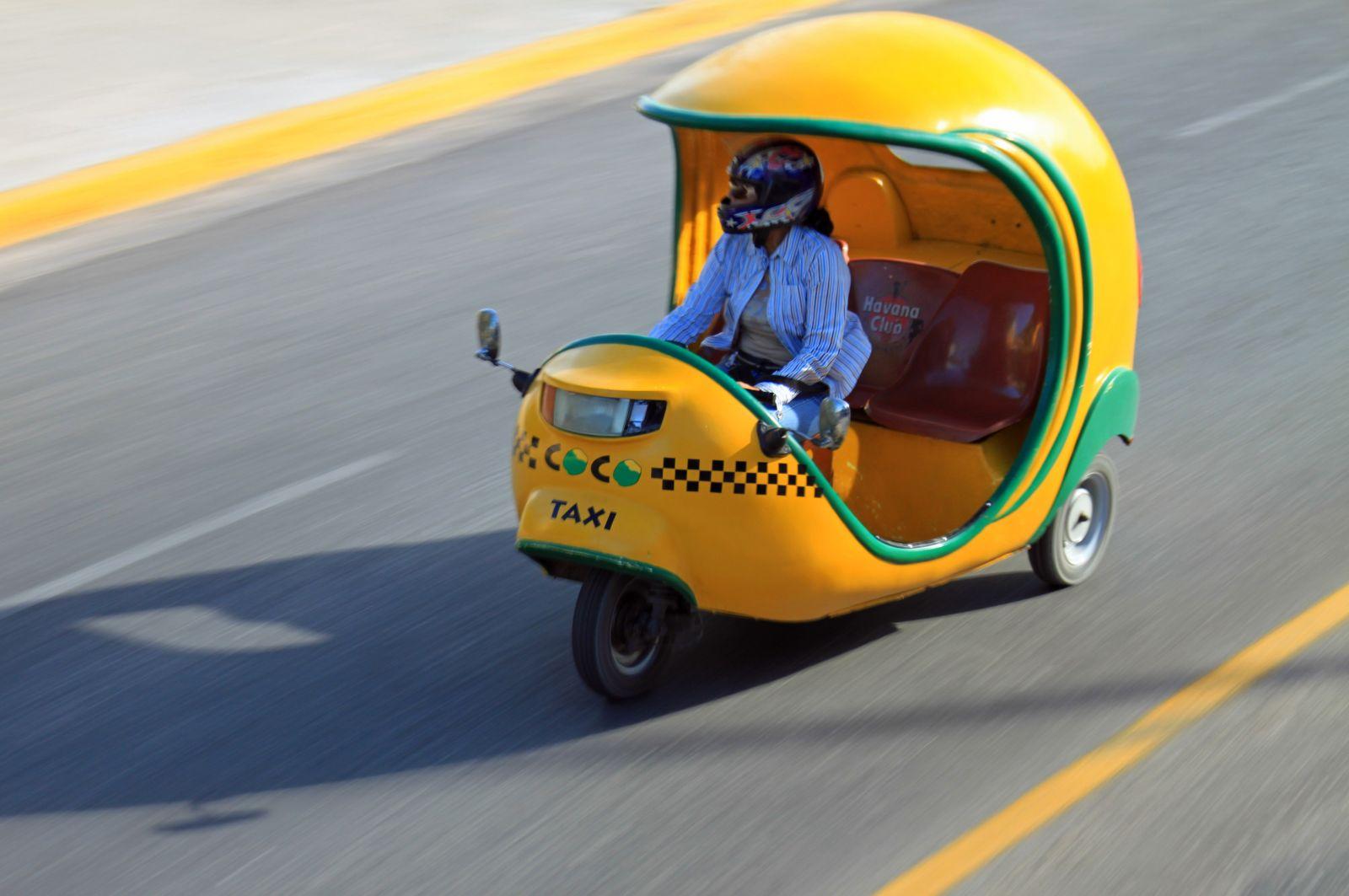 10 необычных и потрясающих видов такси - Картинка 10
