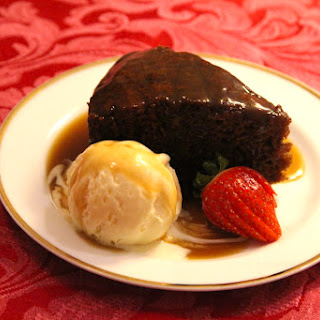 Sticky Date Pudding with Butterscotch Sauce.