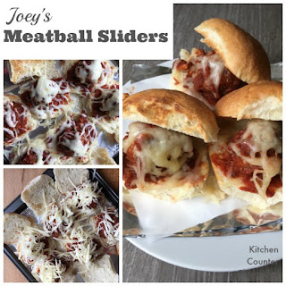 Joey's Meatball Sliders