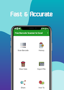 Free Barcode Scanner to Excel 1