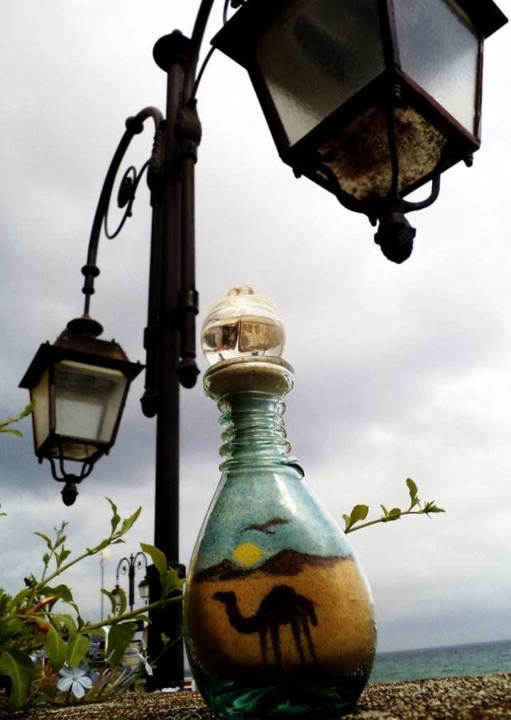 Souvenir di sabbia e vetro di lexa