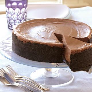Triple-Chocolate Cheesecake.