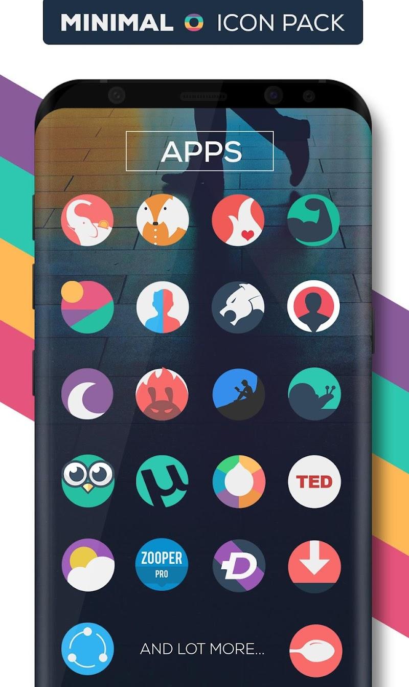 Minimal O - Icon Pack Screenshot 4