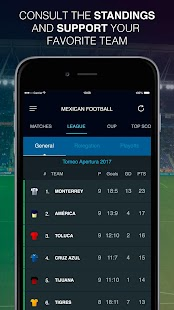 Mexican Football Scores - náhled
