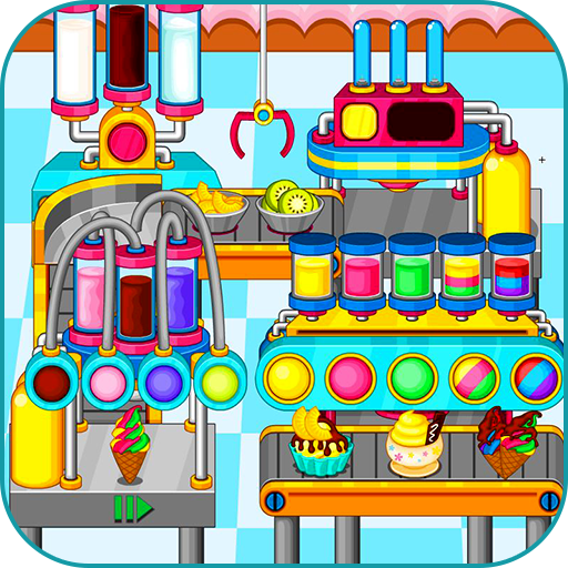 Cooking colorful ice cream (game)