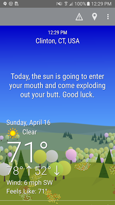 What The Forecast?!! - screenshot
