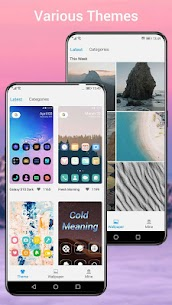 Q Launcher for Q 10.0 launcher, Android Q 10 2020Mod Apk Download For Android 3