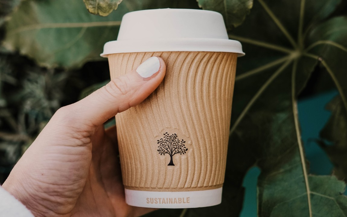 sustainable takeaway cups
