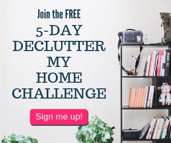 Sidebar decluttering challenge