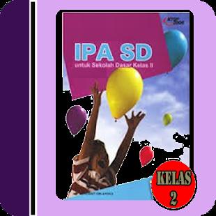 Buku Sekolah IPA Kelas 2 SD - náhled