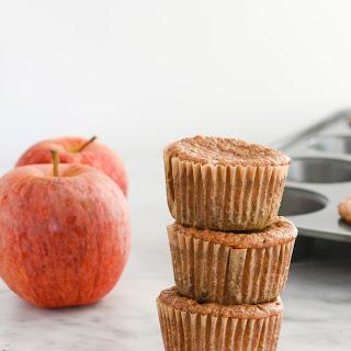 Apple Pie Protein Muffins.