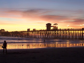 Photo: The Oceanside Pier, always a nice place to visit. Especially around sunset.