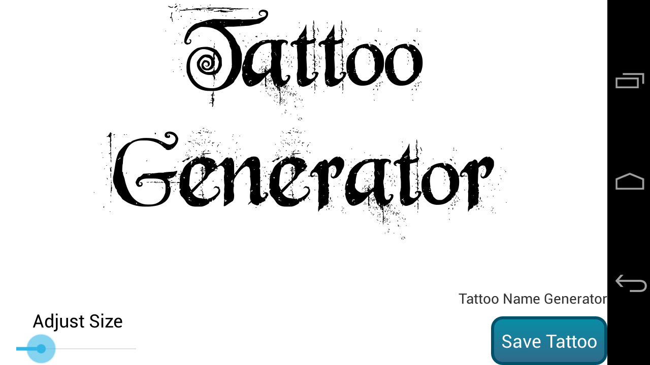 Create a tattoo design free - Tattoo Design Generator Pro Screenshot
