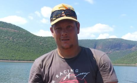 Clinton Fleming was struck by lightning at Loskop Dam. This photo was taken hours before the strike.