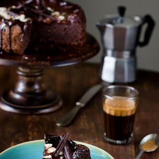 Flourless Chocolate Hazelnut Cake, Gluten Free.