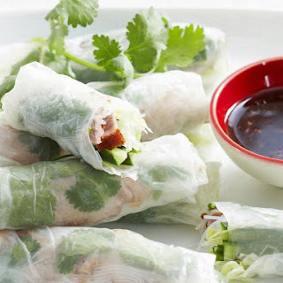 Roast Duck Summer Rolls