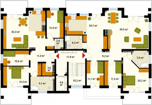 Akant 2 CE - Piętro  3