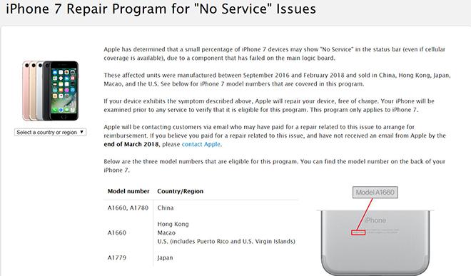 """[CẢNH BÁO] iPhone 6s và iPhone 7 xuất hiện """"Không có dịch vụ"""" khi lên iOS 12.1.4"""