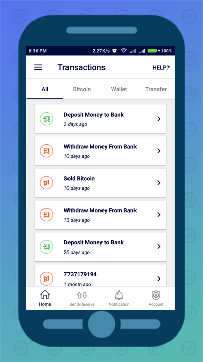 FlitPay Bitcoin Wallet- screenshot