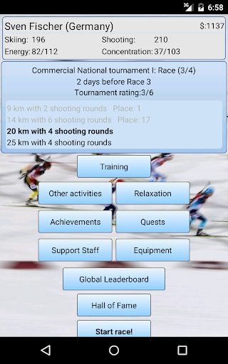 Biathlon Manager