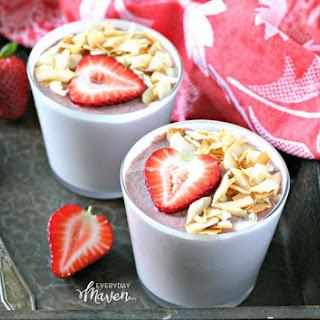 Coconut Strawberry Chia Pudding Recipe