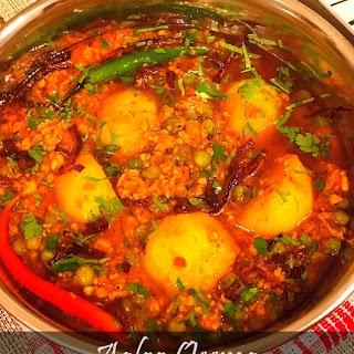 Aaloo Qeema (Potato & Mince Curry)