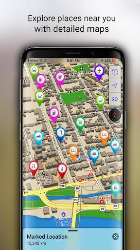 GPS Offline Maps, Directions screenshot 5