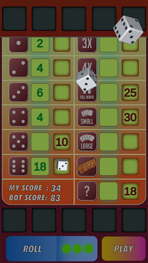Yatzy Classic Dice Game - Offline Free 3.1 screenshots 2