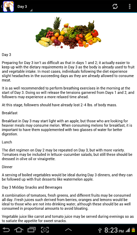 Gm Diet Plan 7days Weight Loss Android Apps On Google Play