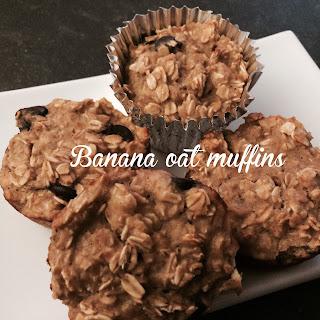 Banana Oat Muffins.