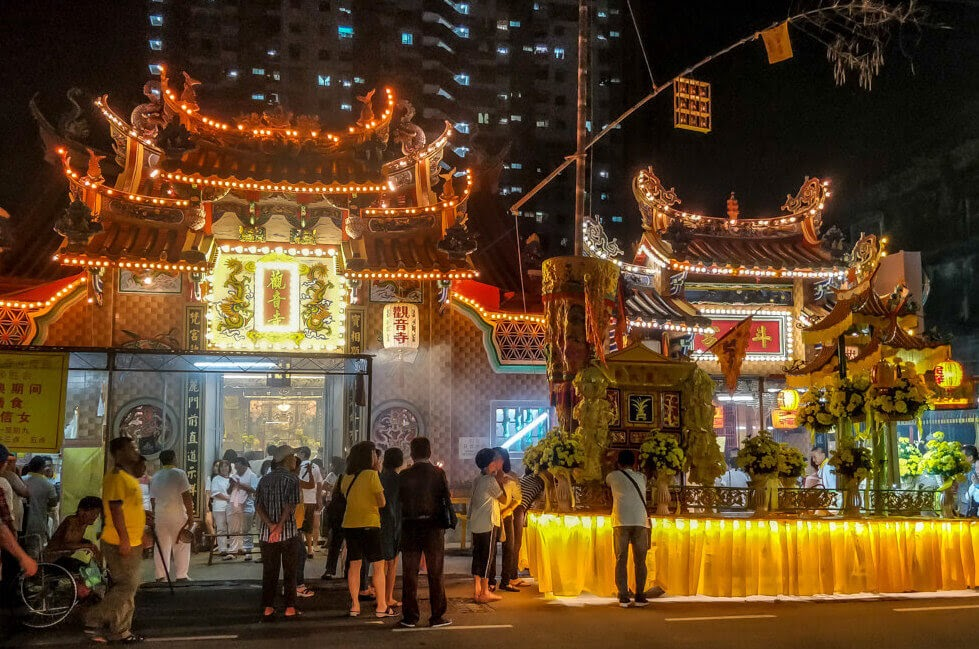 chinese+temple+penang+city+malaysia