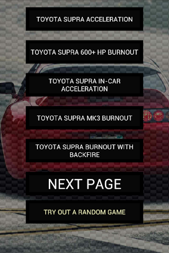 Engine sounds of Supra