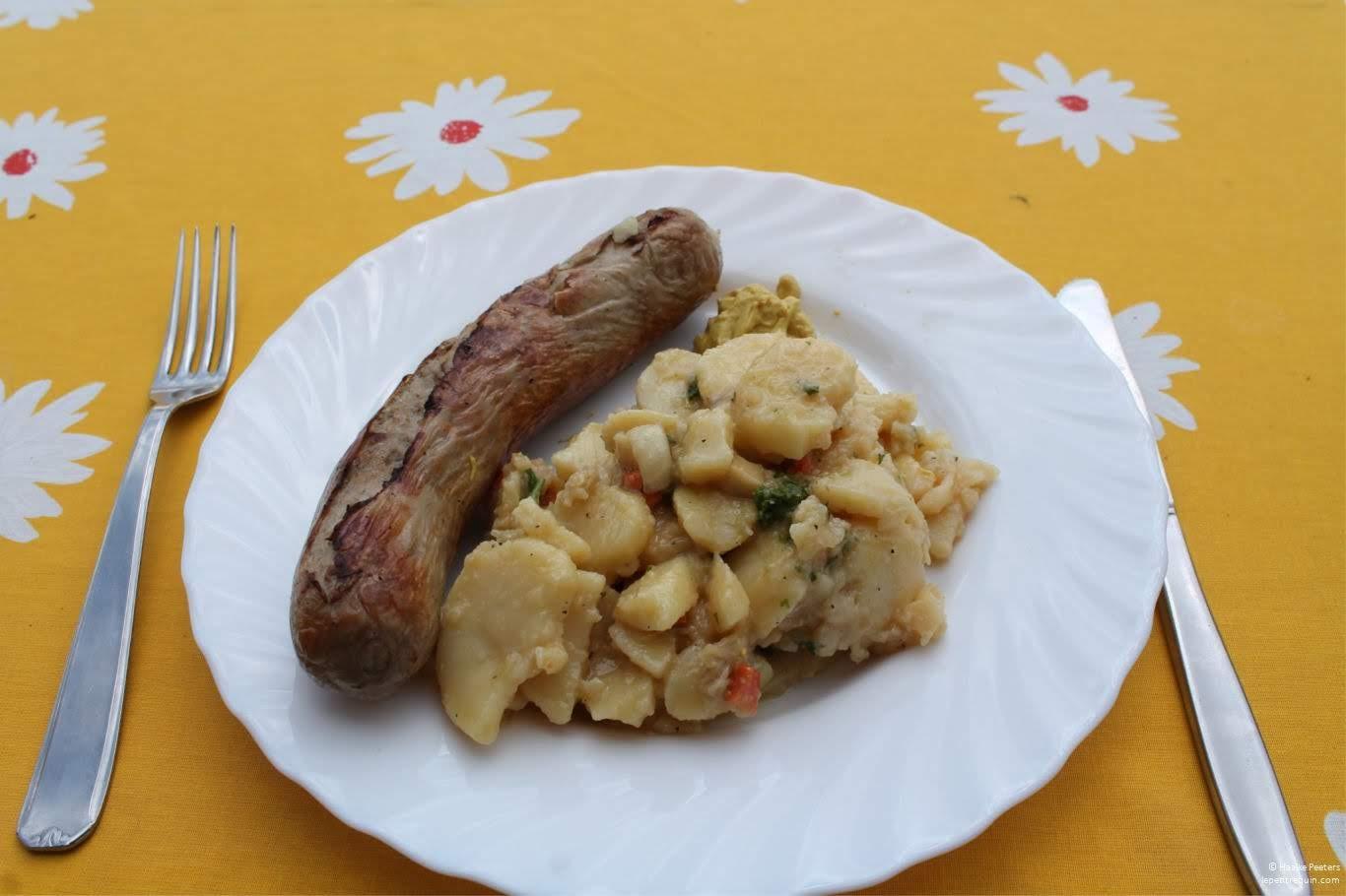 Braadworst met aardappelsalade (Le petit requin)