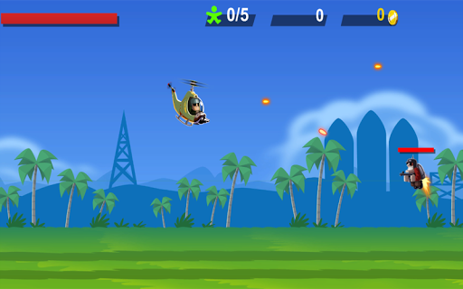 Helicopter Battle Combat