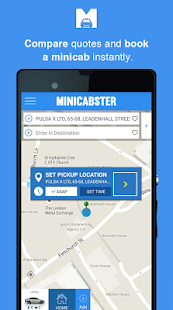 Minicabster - Book a Minicab- screenshot thumbnail