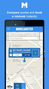 Minicabster - Book a Minicab- screenshot thumbnail