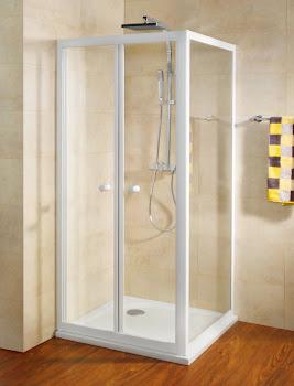 Porte de douche battante (vers l'intérieur)