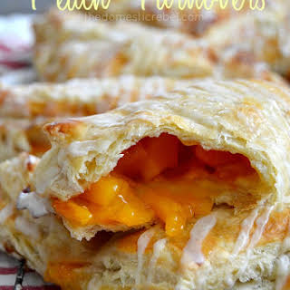 The Easiest Peach Turnovers.