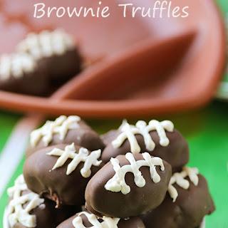 Strawberry Brownie Truffles