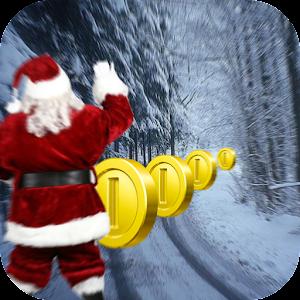 Santa Surfer Xmas Running game