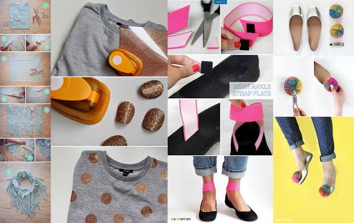 DIYの工芸品ファッション