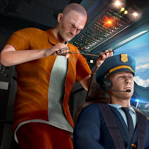 Prison Rush in Airplane Flight