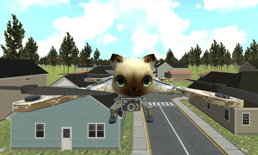 猫無人飛行冒険シム
